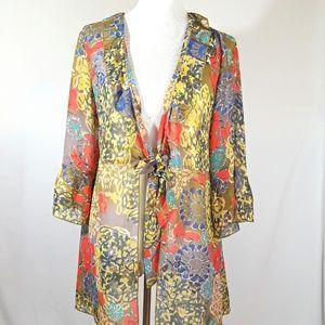 Cabi Floral Kimono Large